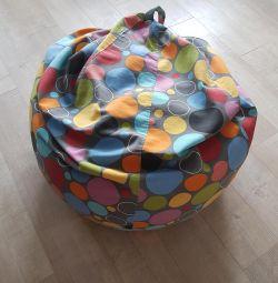 Excellent frameless bean bag chair