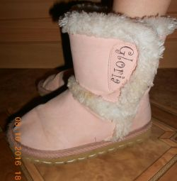 Uggs 17 cm insole, autumn-spring, pink.
