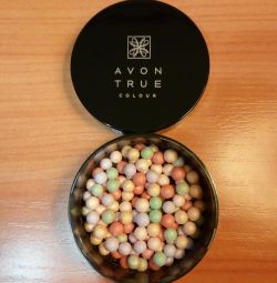 Powder balls with correct. Perfect shade effect