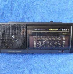 Радиоприемник Вега РП-245С-1 с FM, 1993 год