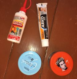 Gel, wax for hair styling