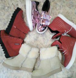 Ayak bileği botları yeni