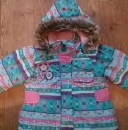 Winter jacket for the girl