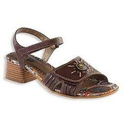 Yeni sandaletler