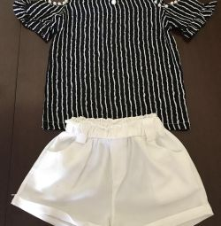 Shorts blouse 2-5