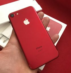 Новий iPhone 7 (32gb) red 🔥
