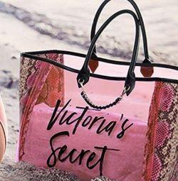 Victoria 'Secret ροζ αρχική τσάντα