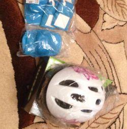 Helmet knee pads and so on