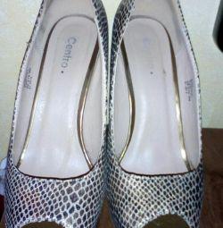 Snake Print Shoes