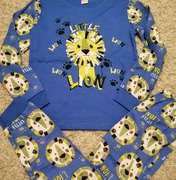 Pajamas for children 7-8 years