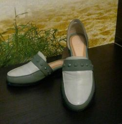 Shoes genuine leather new
