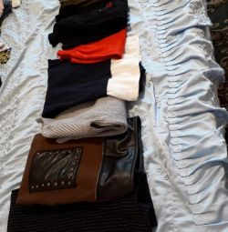 A package of new (used) and branded items 48-50rr