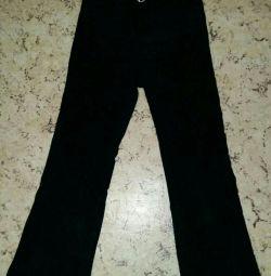 Παντελόνι μαύρο για το κορίτσι r110-116