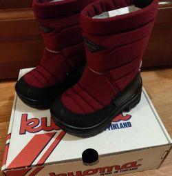 Χειμερινές παιδικές μπότες, νέες