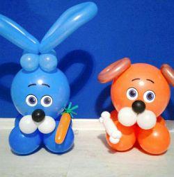 Міні фігурки з кульок