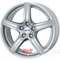 Колесные диски Alutec Poison 7x17 PCD 5x105.0 ET 38 DIA 56.60 Polar Silver