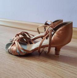 Туфли латина Ю-1, 21,5 см