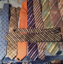 Ties branded silk