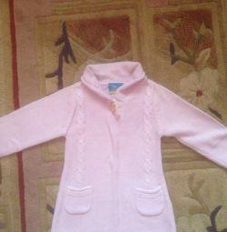 Вязаное платье размер 92