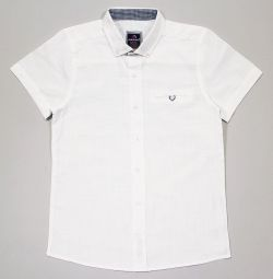 Λευκό πουκάμισο για ένα αγόρι