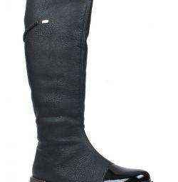 Νέες δερμάτινες χειμωνιάτικες μπότες Rieker r. 37