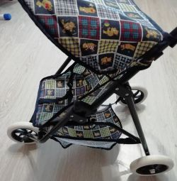 Baby carriage for a doll
