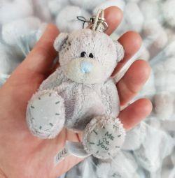 Bear Teddy μαλακό παιχνίδι μπιμπερό για μπουκέτα