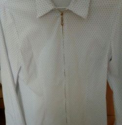 Büyüme için bluz okulu 165 - 175, büyüklük 44 -46