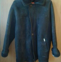 Sheepskin coat for men