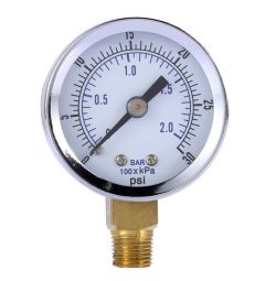 Manometer 0-30 PSI for compressors