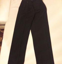 Pantaloni noi pentru băieți. Gradul 1-2, dispozitivul de reglare laterală