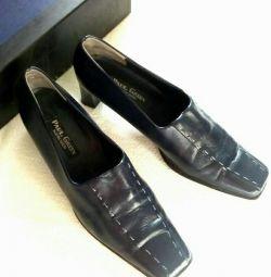 Pantofi din piele (Austria) 39,5-40 dimensiune.