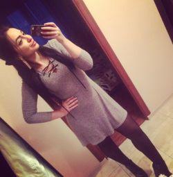 Φόρεμα με κορδόνια