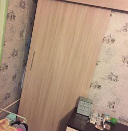 Дверь для встроенного шкафа купе межкомнатная