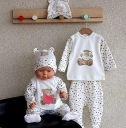 Teddy Set (without hat)