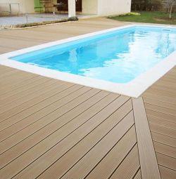 Deck board and Larches 120х45