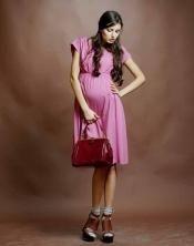 Φόρεμα για έγκυες γυναίκες (νέο) ποτάμι 44, 46