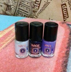 nail polish for 50 for 3 pcs