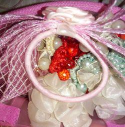 Праздничные резинки для девочек
