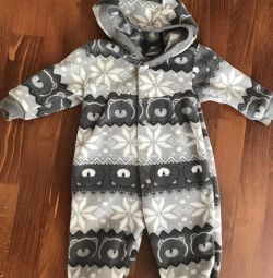 Overalls fleece condition new