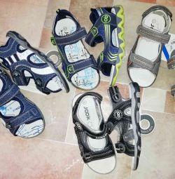 Yeni sandalet juk s.31 dört çift