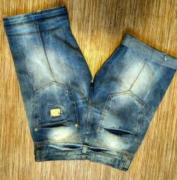 Men's shorts D & G denim new Turkey