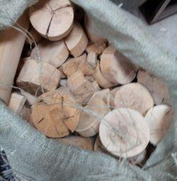 Χοντρά κομμάτια σημύδας