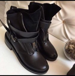 ❗️Новые зимние ботинки с ремнями Размер 35-41
