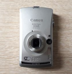 Camera Canon Digital IXUS Wireless
