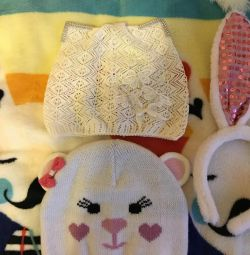 3-4 yıl bir kız için şapka