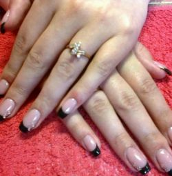 Nail extension in Tula