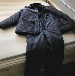 Winter overalls (jacket pants)