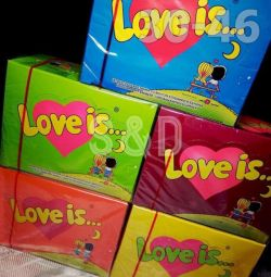 жувальна гумка love is