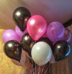 Воздушные шарики гелиевые